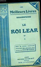 Le Roi Lear - Tome 1 - Couverture - Format classique