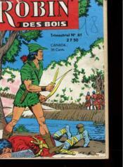 Robin Des Bois - Trimestriel - N° 61 - Couverture - Format classique