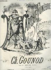 Marche Funebre D'Une Marionnette Pour Piano A Deux Mains. - Couverture - Format classique