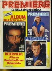 Premiere Album N°12 - 3 Numeros Introuvables - Album Relie Des N° 35 - 36 - 37 - Couverture - Format classique