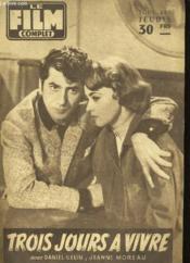 Film Complet N° 681 - Trois Jours A Vivre - Couverture - Format classique