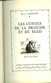 Les Contes De La Brousse Et Du Bled - Couverture - Format classique
