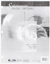 Recueil solutions (calcul intégral) - Couverture - Format classique
