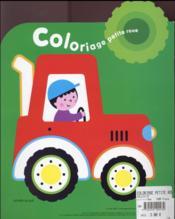 Coloriage petite roue - 4ème de couverture - Format classique