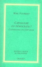 Capitalisme ou démocratie ? l'alternative du XXI siècle - Intérieur - Format classique