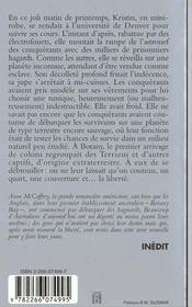 Terre De La Liberte - 4ème de couverture - Format classique