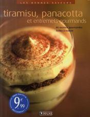 Tiramisu, panacotta et entremets gourmands - Intérieur - Format classique