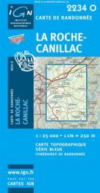 La Roche Canillac - Couverture - Format classique