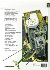Largo Winch T.15 ; Les Trois Yeux Des Gardiens Du Tao - 4ème de couverture - Format classique