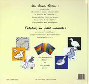 MOSAIQUE avec planche d'autocollant - 4ème de couverture - Format classique