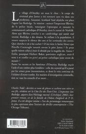 Les fantomes d'osterley - 4ème de couverture - Format classique