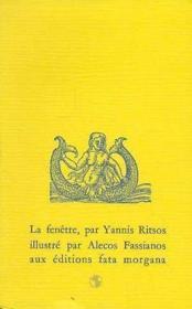 Fenetre (la) - Couverture - Format classique