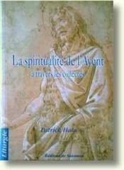 La spiritualité de l'avent a travers les collecres - Couverture - Format classique