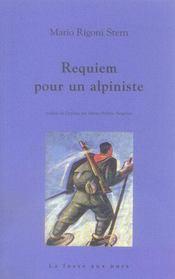 Requiem pour l'alpiniste en guerre - Intérieur - Format classique