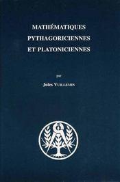 Mathématiques pythagoriciennes et platoniciennes - Intérieur - Format classique