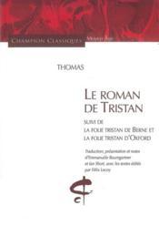 Le roman de Tristan - Couverture - Format classique