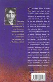 L'esprit dispersé ; comprendre et traiter les troubles de la concentration - 4ème de couverture - Format classique