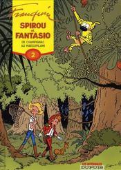 Spirou et Fantasio ; intégrale t.2 ; de Champignac au Marsupilami (1950-1952) - Intérieur - Format classique