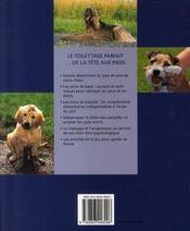 Choyer son animal domestique ; les meilleurs soins pour votre chien - 4ème de couverture - Format classique