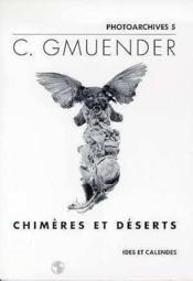 C. Gmuender - Chimeres Et Deserts - Couverture - Format classique