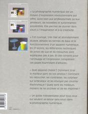 Et Si J'Apprenais T.12 ; La Photo Numérique - 4ème de couverture - Format classique