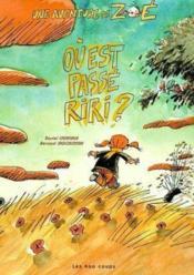Ou Est Passe Riri ? - Couverture - Format classique