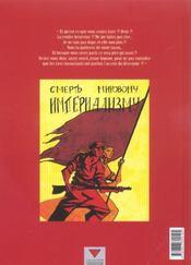 Ring circus t.4 ; les révoltés - 4ème de couverture - Format classique