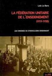 Federation unitaire de l enseignement - Couverture - Format classique