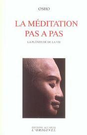Meditation Pas A Pas (La) - Intérieur - Format classique
