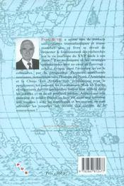 Negoce, Ports Et Oceans 16e-20e Siecles. Melanges Offerts A Paul Bute L - 4ème de couverture - Format classique