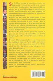 Dernieres Nouvelles Du Colonialisme - 4ème de couverture - Format classique