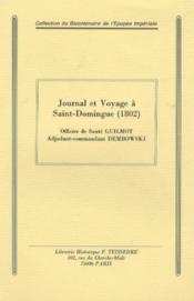 Journal et voyage à saint-domingue (1802) - Couverture - Format classique