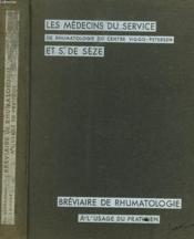 Breviaire De Rumathologie A L'Usage Du Praticien - Couverture - Format classique