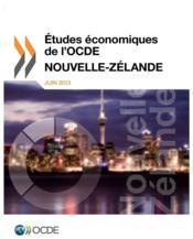 Études économiques de l'OCDE : Nouvelle-Zélande 2013 - Couverture - Format classique