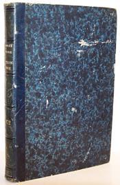 Dictionnaire de la Législation Algérienne, Deuxième volume : 1860-1866 et Troisième volume 1866-1872 reliés ensemble - Couverture - Format classique