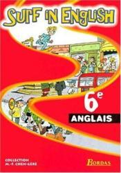 SURF IN ENGLISH ; anglais ; 6ème ; manuel de l'élève (édition 2000) - Couverture - Format classique