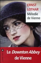 Mélodie de Vienne - Couverture - Format classique