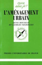 L'amenagement urbain qsj 2664 - Intérieur - Format classique