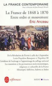 La France De 1848 A 1870 : Inedit - Intérieur - Format classique