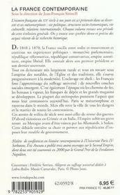 La France De 1848 A 1870 : Inedit - 4ème de couverture - Format classique