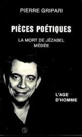 Pieces Poetiques - Couverture - Format classique