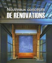 Nouveaux concepts de rénovation - Couverture - Format classique
