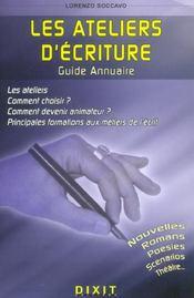 Guide annuaire ateliers d'ecriture - Intérieur - Format classique