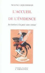 Accueil De L'Evidence (L') - Intérieur - Format classique