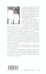 Accueil De L'Evidence (L') - 4ème de couverture - Format classique