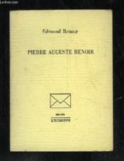 Pierre Auguste Renoir - Couverture - Format classique