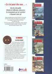 Histoire & Collections - La Marne, Von Kluck attaque - 4ème de couverture - Format classique