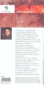 Sagesse De La Monteuse De Film (La) - 4ème de couverture - Format classique
