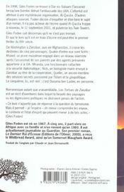Tortues de zanzibar (les) - 4ème de couverture - Format classique