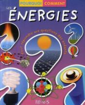 Les énergies - Couverture - Format classique